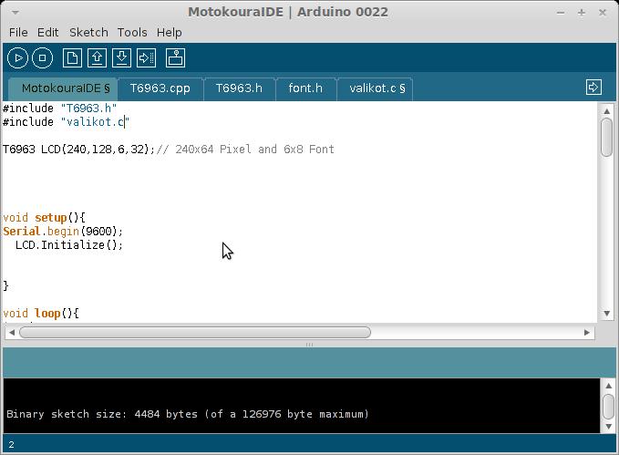 Arduino Mega ja T6963c - Mikrokontrollerit & sulautettu ohjelmointi